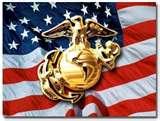 USMC and flag