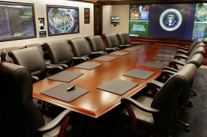 "High Tech Dominates At New West Wing ""Situation Room"""